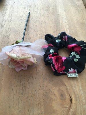 Accesorio para el pelo rosa-negro