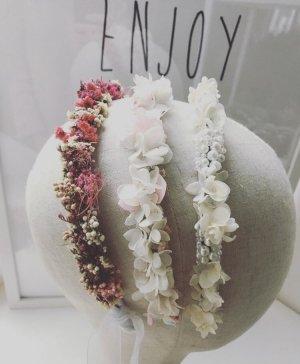 Haarreif Haarkranz Blumenkranz Blumenschmuck Hochzeit