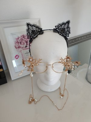 Claires Hair Circlet black-pink