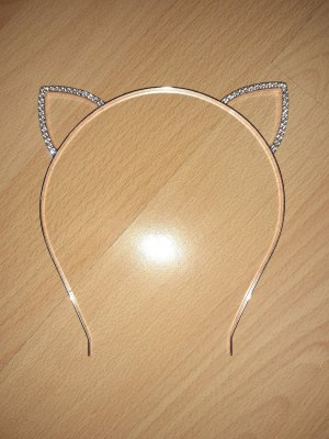 Hair Circlet white-rose-gold-coloured
