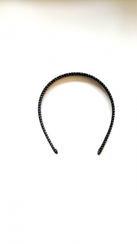 Asos Hair Circlet white-black