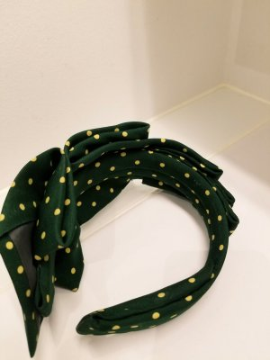Hair Circlet forest green
