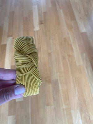 Haarreifen gelb ocker