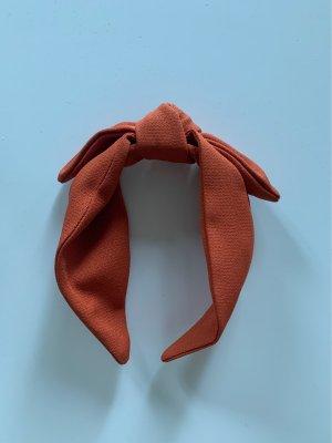 Haarreifen orange