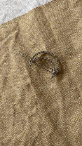 Bijou Brigitte Wpinki do włosów srebrny