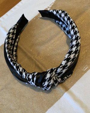 H&M Cerchietto per capelli nero-bianco