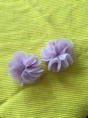 I am Spilla per capelli viola