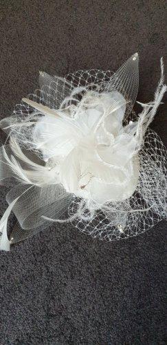 Veil white mixture fibre
