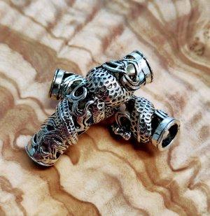 Spilla per capelli argento Metallo