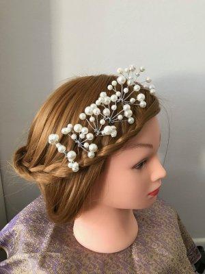 Haarschmuck Hochzeit Perlen elegant Haarspangen