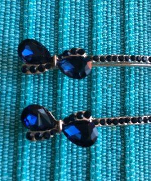 Haarschmuck mit blauen Steine