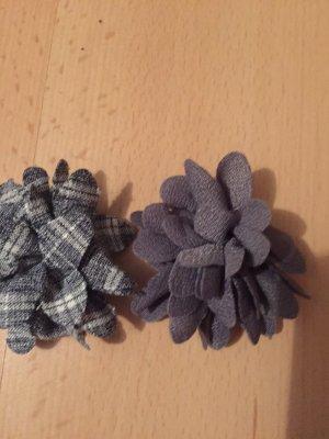 Broche gris-noir