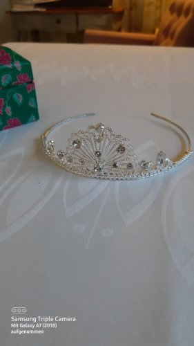 keine Hair Circlet silver-colored