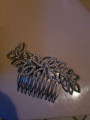 Wpinki do włosów srebrny