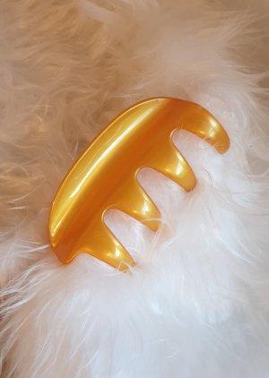 Molletta per capelli giallo-oro-giallo Materiale sintetico