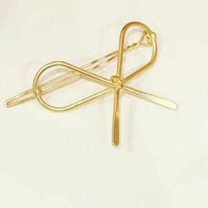 Haarspange gold Hochzeit Kommunion Zara