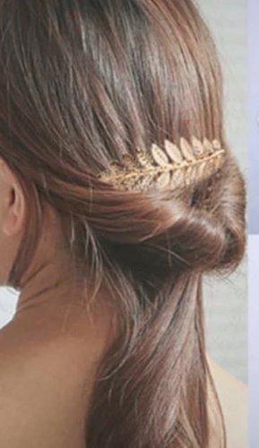 Klamra do włosów złoto
