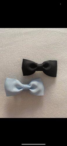 Klamra do włosów czarny-baby blue