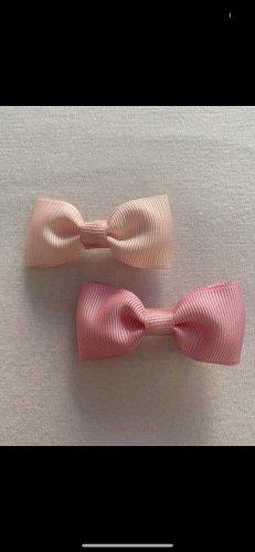Pinza para el pelo color rosa dorado-rosa
