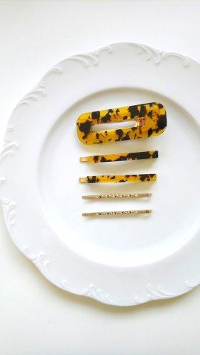 Haarelastiek goud-geel