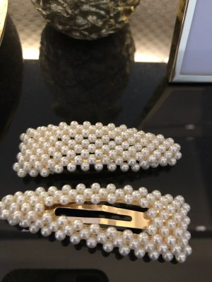 Haarspangen Gold Perlen NEU