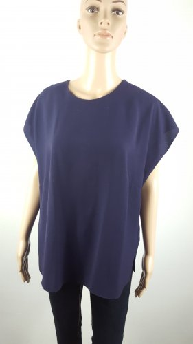 Shirt Tunic brown violet polyester