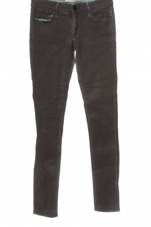 Habitual Pantalone a sigaretta marrone stile casual