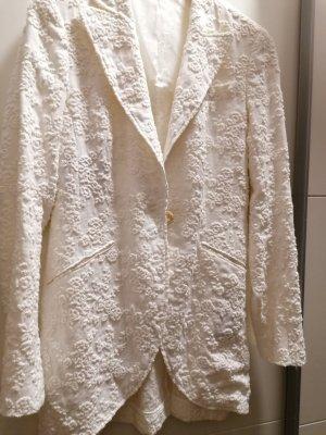 Kleidermanufaktur Habsburg Long Blazer white