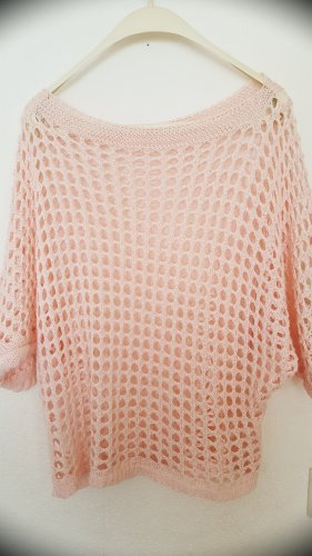 Zara Crochet Sweater pink