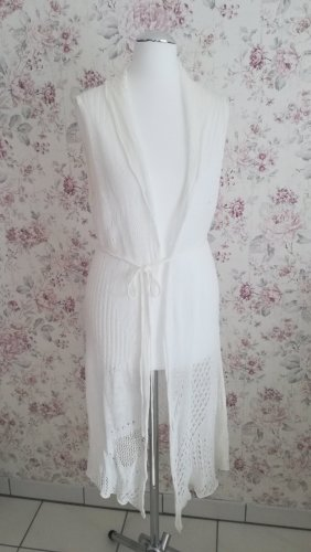 just B. Knitted Vest white