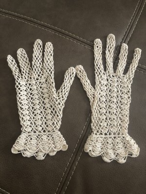 Knitted Gloves cream