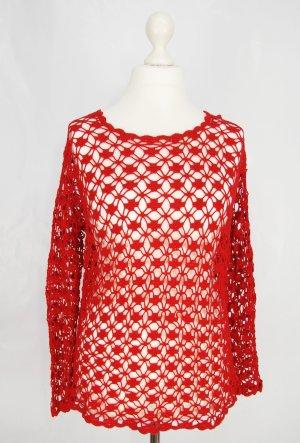 Häckelpullover Gr. M Pullover Vintage