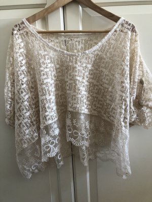 Crochet Top cream