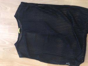 Chilli Crochet Top black