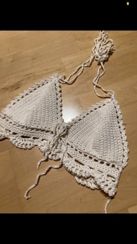 MADEKIND Crochet Top natural white-white