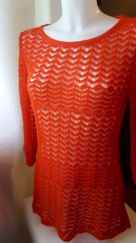 CPM the Collection! Jersey de ganchillo rojo ladrillo