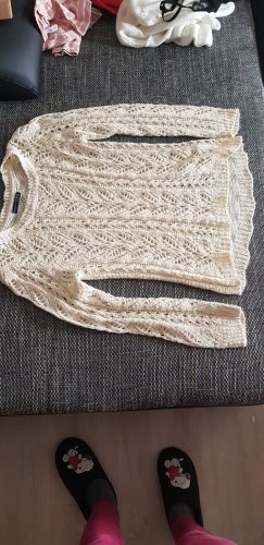 Athmosphere Crochet Sweater natural white