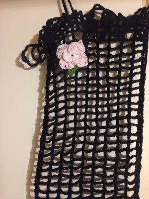 Handmade Szydełkowany szalik Wielokolorowy
