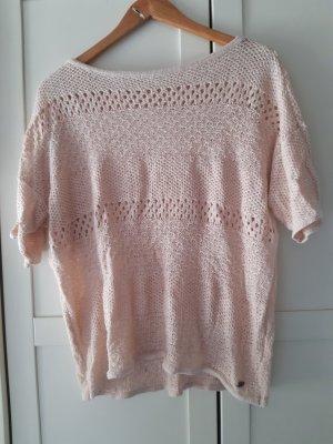 edc by Esprit Top en maille crochet multicolore coton
