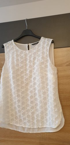 Dunnes Top a uncinetto bianco