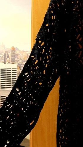 Femme Szydełkowany sweter ciemnoniebieski
