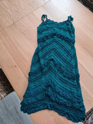 unknown Robe de plage bleu pétrole