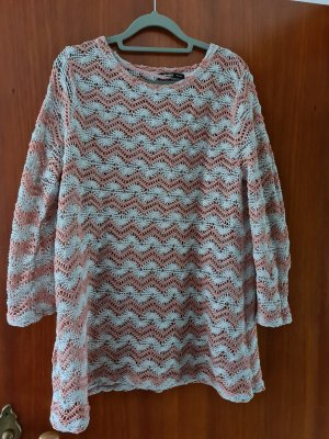 Colours of the World Knitted Sweater light grey-pink