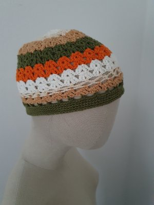 Handarbeit Cappello all'uncinetto multicolore