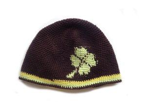 Crochet Cap multicolored cotton