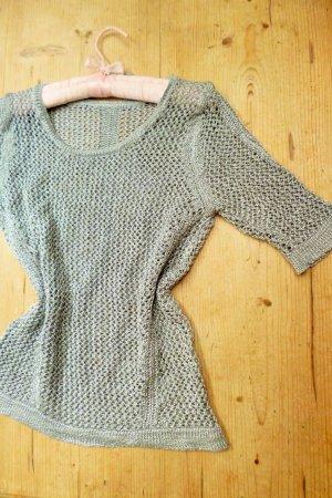 Jack*s Pull en crochet gris clair-argenté viscose