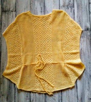 Gehaakt shirt geel