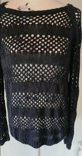 1982 Crochet Sweater dark blue