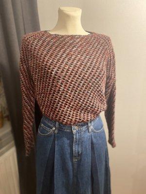 Zara Knit Pullover all'uncinetto multicolore