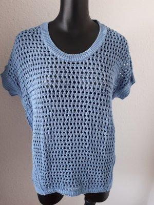 Gehaakt shirt azuur